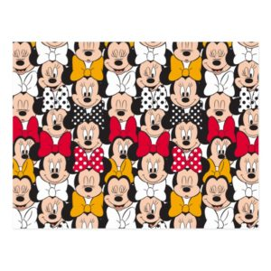 Minnie Mouse | Pattern Postcard