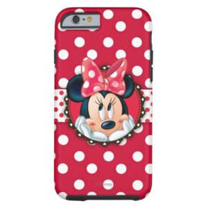 Minnie Mouse | Smiling on Polka Dots Case-Mate iPhone Case