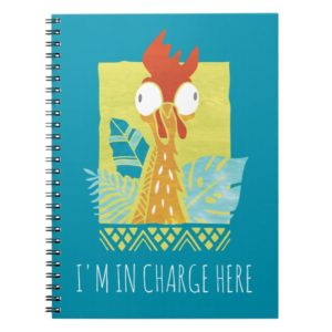 Moana | Heihei - I'm In Charge Here Notebook