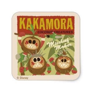 Moana | Kakamora - Coconut Creatures Square Sticker
