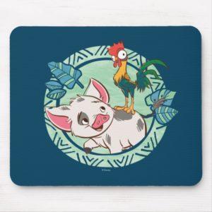 Moana   Pua & Heihei Voyagers Mouse Pad