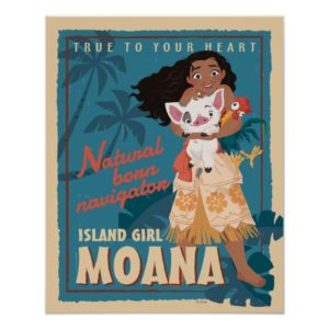 Moana | True to Your Heart Poster