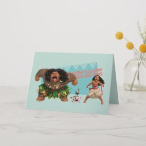 Moana   We Are All Voyagers Card