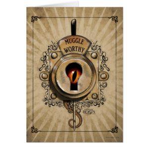 MUGGLE WORTHY™ Lock