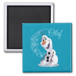 Olaf | Wave of Snowflakes Magnet