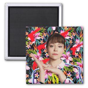 Orphan Black | Alison - Floral Pattern Magnet