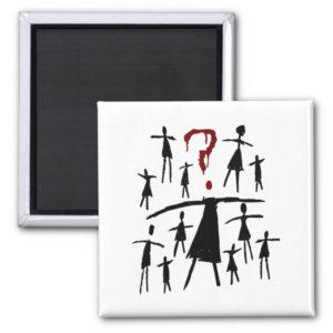 Orphan Black   Helena - Clone Sketch Magnet