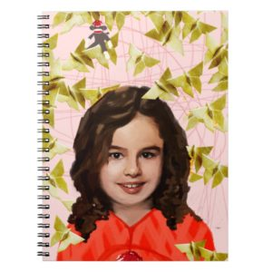 Orphan Black   Kira - Girly Origami  Notebook