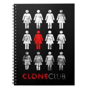 Orphan Black   Leda Clone Club Notebook