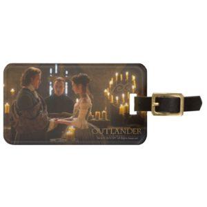 Outlander   Jamie & Claire's Wedding Bag Tag