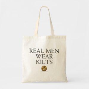 Outlander | Real Men Wear Kilts Tote Bag