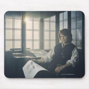 Outlander Season 3 | Jamie Fraser Reading Mouse Pad