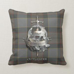 Outlander | The Fraser Brooch Throw Pillow