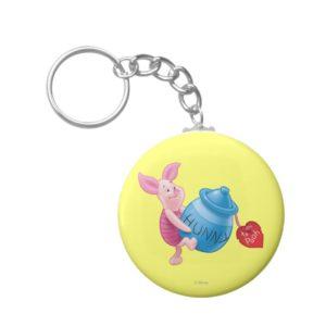 Piglet and Hunny Pot Keychain