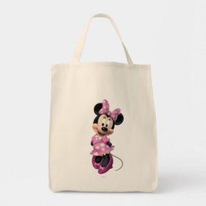 Pink Minnie | Hands Behind Back Tote Bag