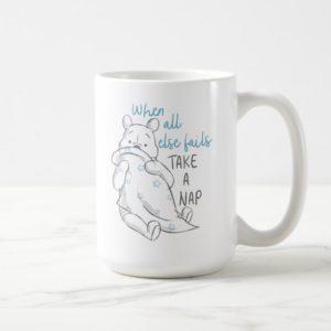 Pooh | Take a Nap Quote Coffee Mug