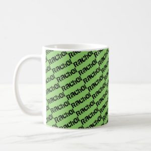 Rachel from Orphan Black,block letters, pattern Coffee Mug