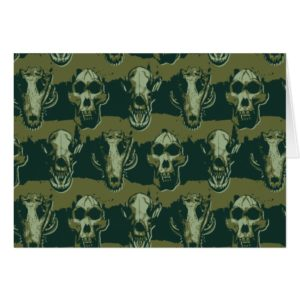 RAMPAGE   Skulls Pattern