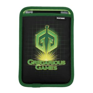Ready Player One | Gregarious Games Logo iPad Mini Sleeve