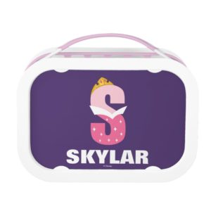 S is for Sleeping Beauty | Add Your Name Lunch Box