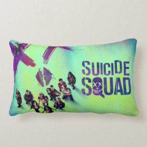 Suicide Squad | Group Poster Lumbar Pillow