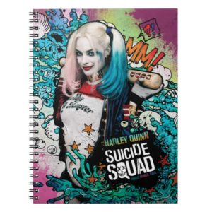 Suicide Squad | Harley Quinn Character Graffiti Notebook