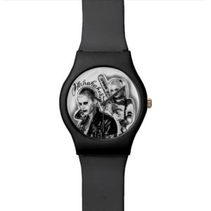Suicide Squad | Joker & Harley Airbrush Tattoo Watch