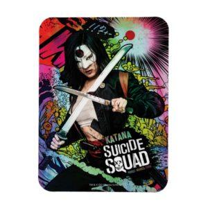 Suicide Squad   Katana Character Graffiti Magnet