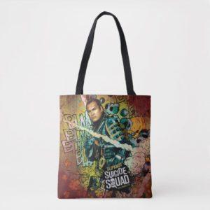 Suicide Squad   Slipknot Character Graffiti Tote Bag