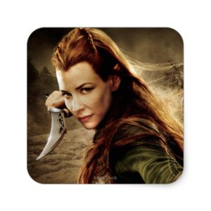 TAURIEL™ Character Poster 1 Square Sticker