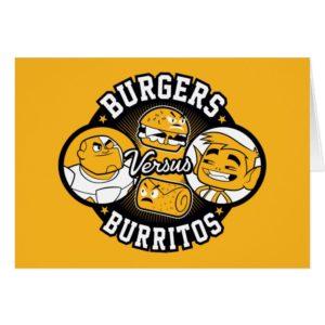 Teen Titans Go! | Burgers Versus Burritos