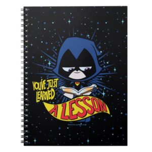 "Teen Titans Go! | Raven ""Learned A Lesson"" Notebook"