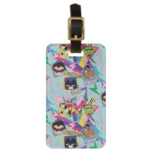 Teen Titans Go! | Retro 90's Group Collage Bag Tag