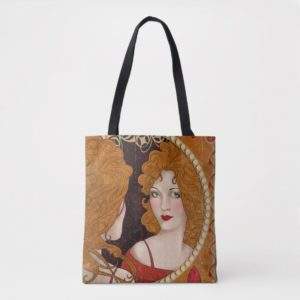 THE BLIND PIG™ Vintage Artwork Tote Bag