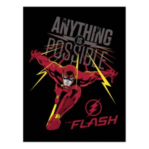 "The Flash | ""Anything Is Possible"" Postcard"