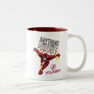 "The Flash | ""Anything Is Possible"" Two-Tone Coffee Mug"
