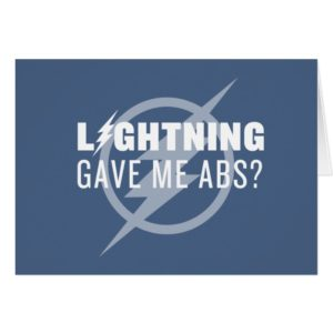 "The Flash | ""Lightning Gave Me Abs?"""