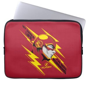 The Flash   My Whole Life I've Been Running Computer Sleeve