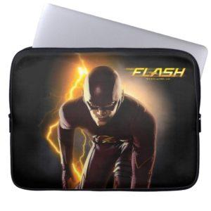 The Flash | Sprint Start Position Computer Sleeve
