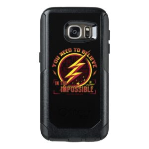 The Flash   You Need To Believe In The Imposible OtterBox Samsung Galaxy S7 Case