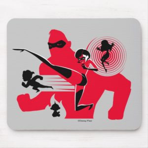 The Incredibles 2 | Hero Work Mouse Pad