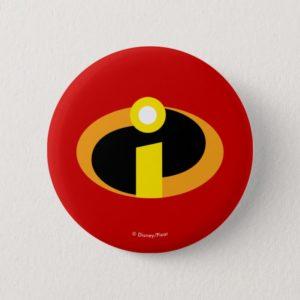 The Incredibles Logo Pinback Button