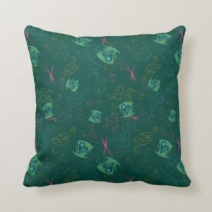 The Mad Hatter Pattern Throw Pillow