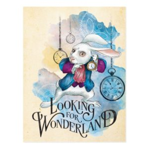 The White Rabbit | Looking for Wonderland Postcard