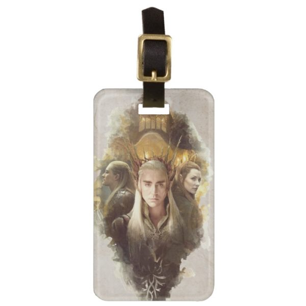 Thranduil, LEGOLAS GREENLEAF™, & TAURIEL™ Graphic Bag Tag