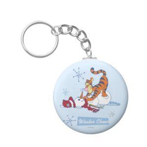 Tigger Winter Cheer Keychain