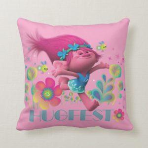 Trolls | Poppy - Hugfest Throw Pillow
