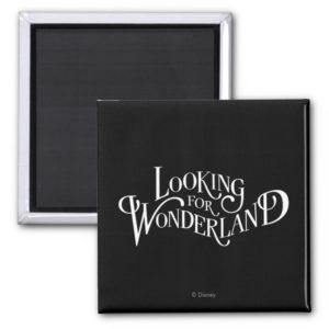 Typography | Looking for Wonderland Magnet