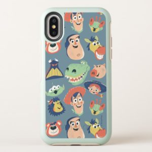 Vintage Painted Toy Story Characters OtterBox iPhone Case