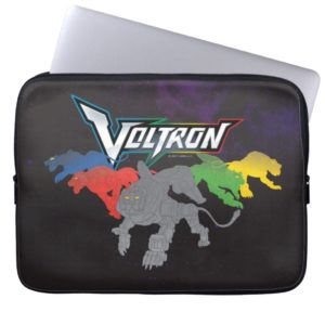 Voltron   Lions Charging Computer Sleeve